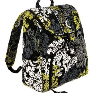 Vera Bradley double zip backpack baroque Retired
